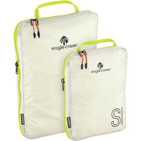 Eagle Creek Pack-It Specter Tech Pakkauskuutiosetti Koko S/M, white/strobe